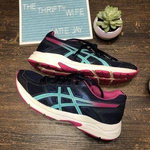 ca2e6155ccc4 Asics Shoes - ASICS Gel Contend 4 Navy   Pink Women s Size 6.5